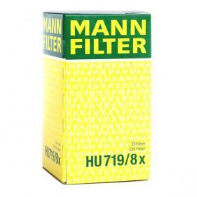 HU 719/8 x Alyvos filtras MANN-FILTER - Sumažintų kainų patirtis