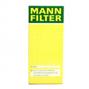 HU 721/4 x Alyvos filtras MANN-FILTER originalios kokybiškos