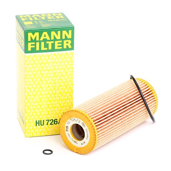 HU7262x Motoroljefilter MANN-FILTER HU 726/2 x Stor urvalssektion — enorma rabatter