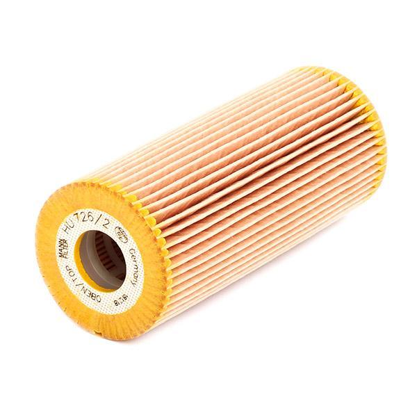 HU 726/2 x Filter MANN-FILTER - Markenprodukte billig