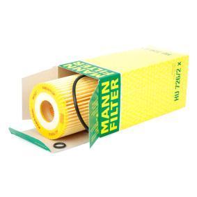 HU 726/2 x Olejový filter MANN-FILTER originálnej kvality
