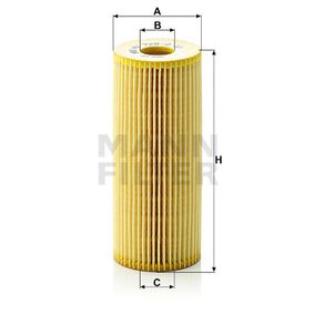 Alyvos filtras HU 726/2 x nuo MANN-FILTER