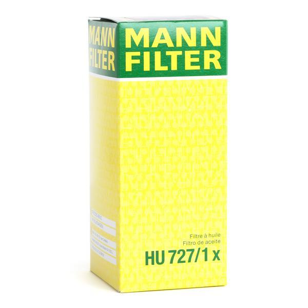 HU727/1x Ölfilter MANN-FILTER Erfahrung