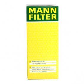 HU 727/1 x Ölfilter MANN-FILTER in Original Qualität