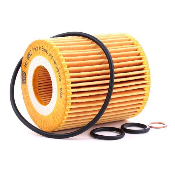 HU 815/2 x Filter MANN-FILTER - Markenprodukte billig