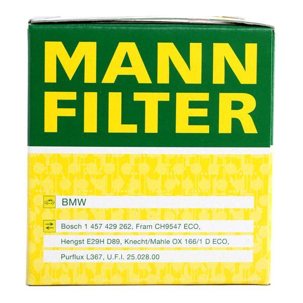 HU 815/2 x Ölfilter MANN-FILTER Test