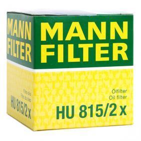 HU815/2x Eļļas filtrs MANN-FILTER - Pieredze par atlaižu cenām