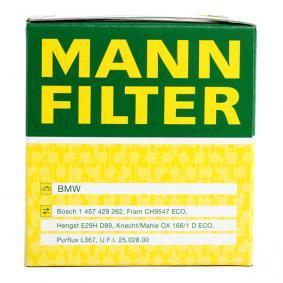 HU 815/2 x Eļļas filtrs MANN-FILTER kvalitatīvas orģinālās