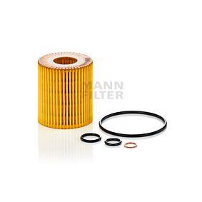 HU 815/2 x Eļļas filtrs MANN-FILTER Test