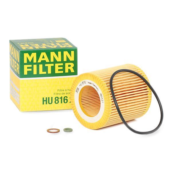 HU 816 x MANN-FILTER Ölfilter Bewertung