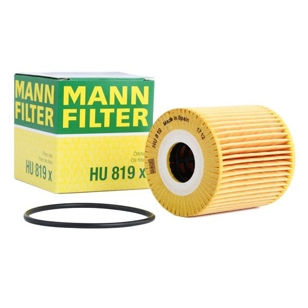 Oljefilter MANN-FILTER HU 819 x Recensioner