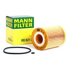 Pirkti MANN-FILTER su tarpikliais / sandarikliais vidinis skersmuo: 31mm, Ø: 72mm, aukštis: 95mm Alyvos filtras HU 821 x nebrangu