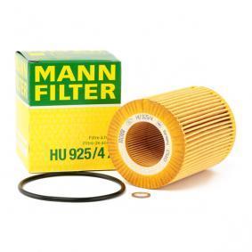 HU 925/4 x MANN-FILTER mit Dichtungen Innendurchmesser: 42mm, Ø: 83mm, Höhe: 104mm Ölfilter HU 925/4 x günstig kaufen
