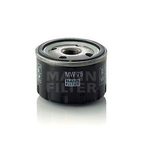 """MW75 Filtre d'huile MANN-FILTER - L""""expérience à prix réduits"""
