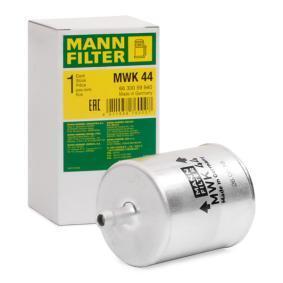 Ostaa moottoripyörän MANN-FILTER Korkeus: 94mm Polttoainesuodatin MWK 44 edullisesti