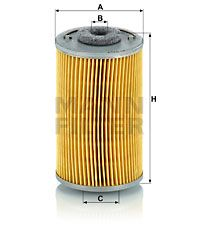 P 707 Kütusefilter MANN-FILTER originaal kvaliteediga