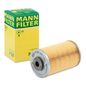 P 707 MANN-FILTER Hoogte: 116mm Brandstoffilter P 707 koop goedkoop