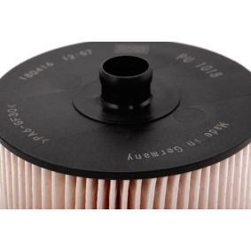 PU1018x Filtr paliwa MANN-FILTER - Doświadczenie w niskich cenach