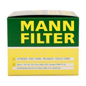 PU 1018 x Filtr paliwa MANN-FILTER oryginalnej jakości
