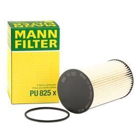 Køb PU 825 x MANN-FILTER med pakninger Höhe: 136mm Brændstof-filter PU 825 x billige