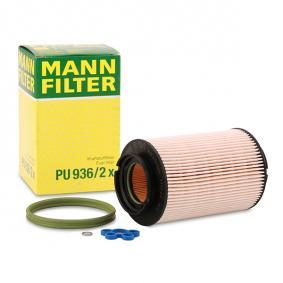 Pirkti PU 936/2 x MANN-FILTER su tarpikliais / sandarikliais aukštis: 142mm Kuro filtras PU 936/2 x nebrangu