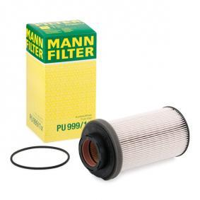 MANN-FILTER Polttoainesuodatin PU 999/1 x - osta 31% alennuksella