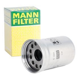 MANN-FILTER Öljynsuodatin W 1022 - osta 28% alennuksella