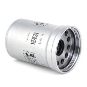 MANN-FILTER Alyvos filtras W1022 užsisakyti internetu