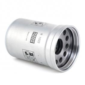 MANN-FILTER Oljefilter W1022: köp online