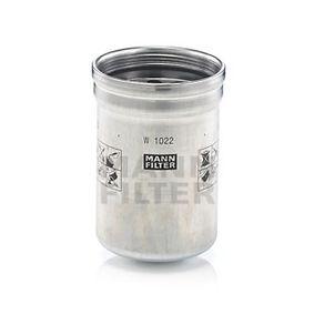 W 1022 Filtro de aceite
