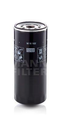 Origine Filtre à huile MANN-FILTER W 11 102 (Diamètre intérieur 2: 93mm, Diamètre intérieur 2: 93mm, Ø: 108mm, Diamètre extérieur 2: 104mm, Hauteur: 260mm)