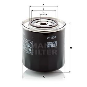 Oil Filter W 1130 for ALFA ROMEO AR at a discount — buy now!