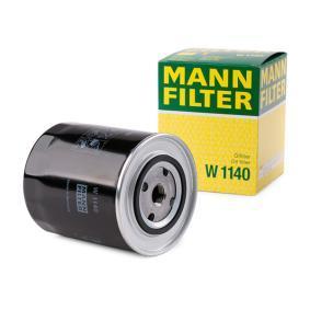Olejový filter W 1140 FIAT 130 v zľave – kupujte hneď!