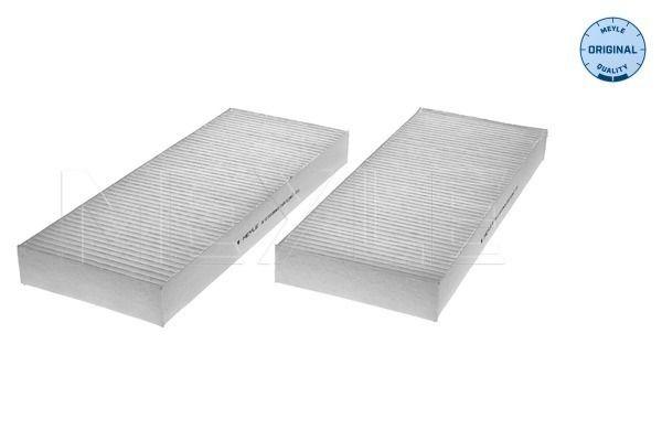 NISSAN NP300 PICKUP 2020 Innenraumluftfilter - Original MEYLE 36-12 319 0004/S Breite: 100mm, Höhe: 25mm, Länge: 260mm
