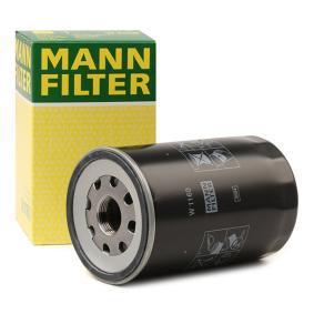 Köp MANN-FILTER Oljefilter W 1160 till MAN till ett moderat pris
