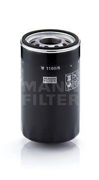 Kup MANN-FILTER Filtr, hydraulika sterownicza W 1160/6 ciężarówki