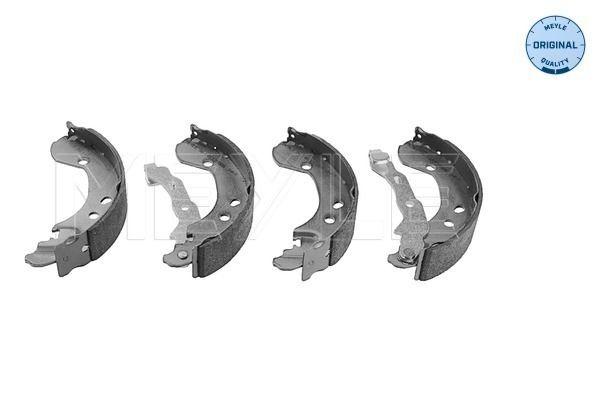MBS0126 MEYLE Hinterachse, Ø: 203,2mm, mit Hebel, ohne Feder, ORIGINAL Quality Breite: 36,5mm Bremsbackensatz 36-14 533 0005 günstig kaufen