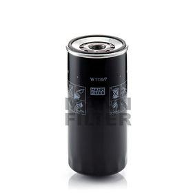 MANN-FILTER Filtro olio W 1170/7 acquisti con uno sconto del 27%