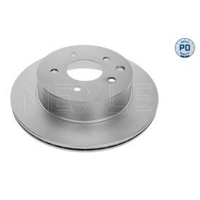 MBD1980PD MEYLE MEYLE-PD Quality, Hinterachse, belüftet, Zink-Lamellen-beschichtet Ø: 292mm, Lochanzahl: 5, Bremsscheibendicke: 16mm Bremsscheibe 36-15 523 0050/PD günstig kaufen