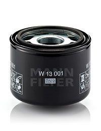 MANN-FILTER Filtr, hydraulika sterownicza W 13 001 - kup ze zniżką w wysokości 19%
