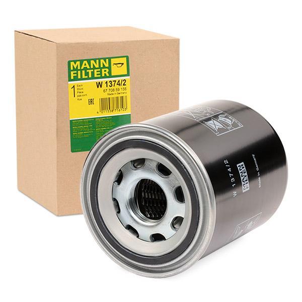 MANN-FILTER Filtro idraulico, Cambio automatico W13742: compri online