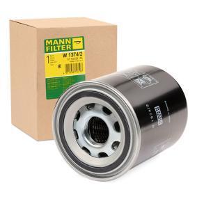 MANN-FILTER W 1374/2 Hidraulika szűrő, automatikus váltó - vásároljon 31% kedvezménnyel