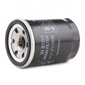 W 610/1 Oil Filter MANN-FILTER - Cheap brand products