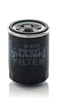W 610/2 MANN-FILTER Anschraubfilter, mit zwei Rücklaufsperrventilen Innendurchmesser 2: 54mm, Ø: 66mm, Außendurchmesser 2: 62mm, Höhe: 90mm Ölfilter W 610/2 günstig kaufen