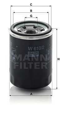 Original PROTON Ölfilter W 610/2