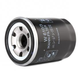 W6103 Filtro olio MANN-FILTER W 610/3 - Prezzo ridotto