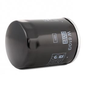 W 610/3 Ölfilter MANN-FILTER - Markenprodukte billig
