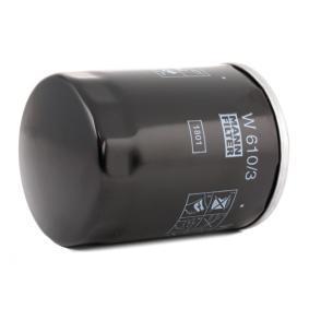 W 610/3 Filtro olio MANN-FILTER prodotti di marca a buon mercato