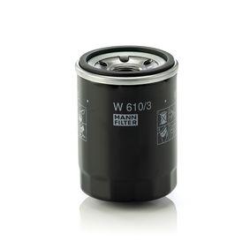 W 610/3 Filtro olio MANN-FILTER Test