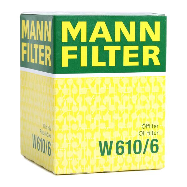 W610/6 Oil Filter MANN-FILTER - Experience and discount prices
